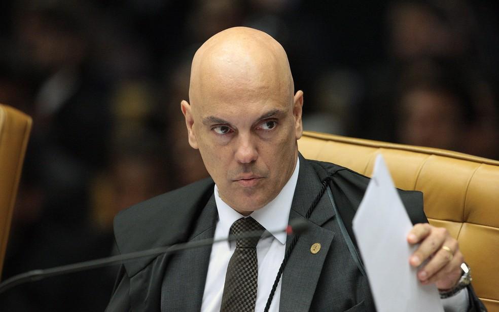 O ministro do STF Alexandre de Moraes — Foto: Carlos Moura/SCO/STF