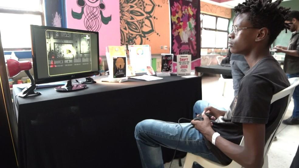 Oficina Perifacon no Perifa Geek — Foto: Produtora Vídeo É Isso/Divulgação