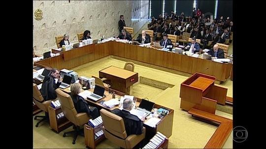 7 ministros do STF votam por enviar à Câmara denúncia contra Temer