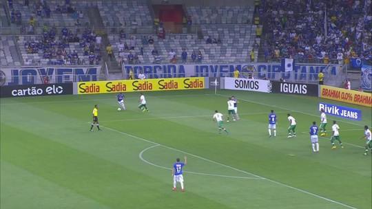 Você se lembra? Moreno marca dois na virada do Cruzeiro sobre a Chapecoense, em 2014