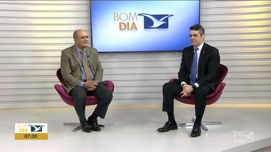 Deputado estadual Adriano Sarney concede entrevista no Bom Dia Mirante