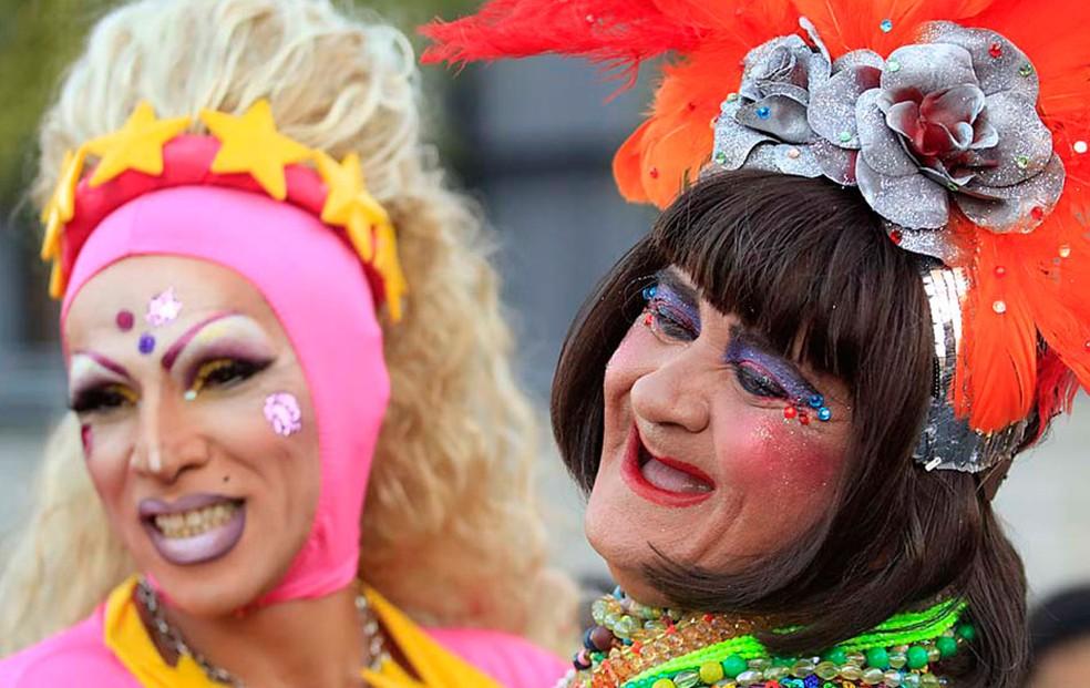 Desfile d'As Kengas' leva alegria para foliões de Natal neste domingo   (Foto: Canindé Soares)