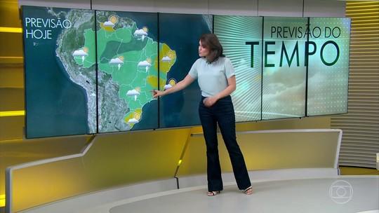 Previsão de chuva forte entre região serrana do RJ, sul de MG e Vale do Paraíba