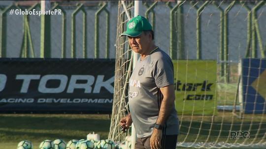 Coritiba quer espantar crise diante do Botafogo