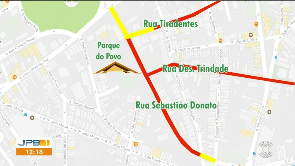Trânsito no Parque do Povo sofre novas mudanças para São João 2019, em Campina Grande - Noticias