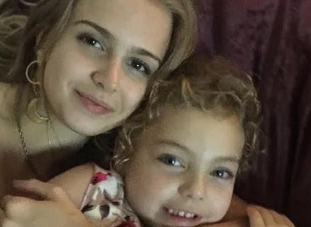 Isa Scherer com a irmã, Brenda (Foto: Reprodução/ Instagram)