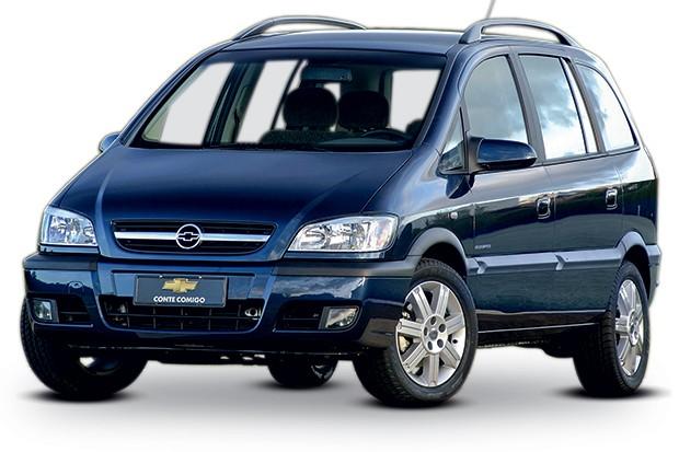 Chevrolet Zafira 2012 (Foto: Divulgação)