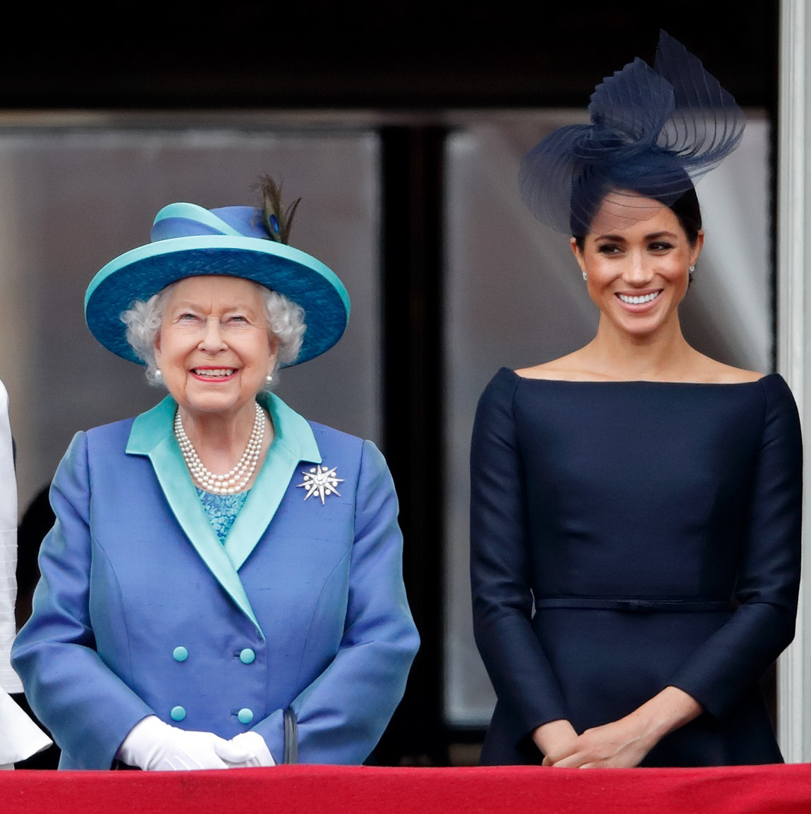 Rainha Elizabeth e Meghan Markle (Foto: Getty Images)