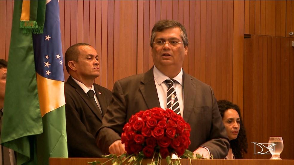 Denúncia encaminhada ao MPE acusa Flávio Dino de abuso do poder (Foto: Reprodução/TV Mirante)