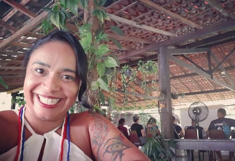 A professora Lília Melo, que recebeu o prêmio Professores do Brasil, do MEC — Foto: Arquivo pessoal