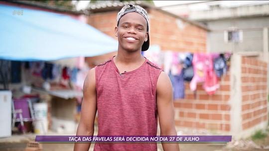 Taça das Favelas: Diogo, artilheiro do Patativas, tem uma história de recomeço com o futebol
