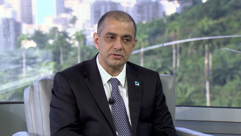 Edmar Santos, ex-secretário estadual de Saúde do RJ — Foto: Reprodução/TV Globo