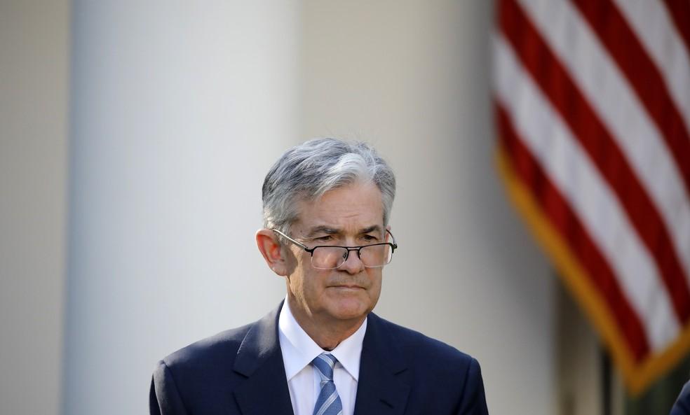 Jerome Powell, presidente do Fed (Foto: Reuters)