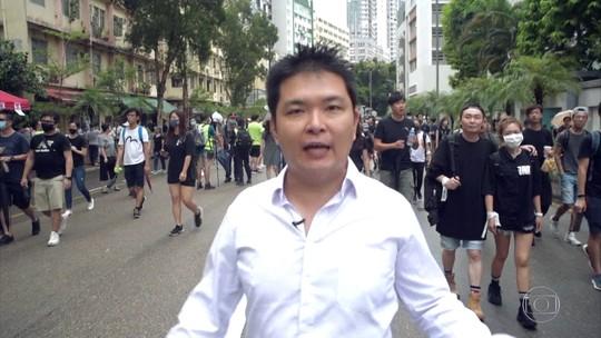Brasileira que participou de protestos em Hong Kong diz que ameaça  chinesa não vai parar manifestantes