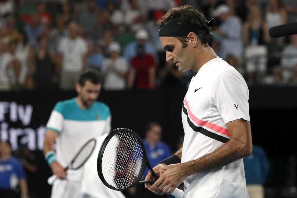 d6d838b52a8 ... Roger Federer defenderá o título no Aberto da Austrália em janeiro —  Foto  REUTERS