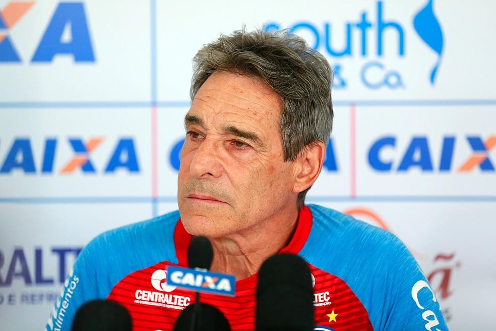 Carpegiani comandou o Bahia no Campeonato Brasileiro: técnico assume coordenação do futebol do Flamengo (Foto: Marcelo Malaquias / Divulgação / EC Bahia)