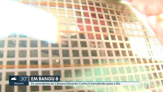 Ex-deputado Eduardo Cunha está de volta ao Rio, direto para Bangu
