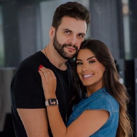 Ivy Moraes e o marido, Rogério Fernandes (Foto: Reprodução)