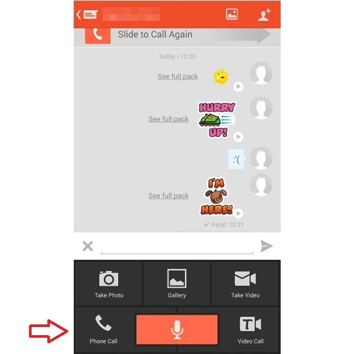 O Tango permite que o usuário ligue gratuitamente para amigos que também usam o app (Foto: Reprodução/Lívia Dâmaso)