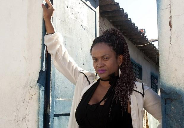 A professora de matemática transexual Natalha Claudinei Silva Nascimento  (Foto: Leopoldo Silva, da BBC)
