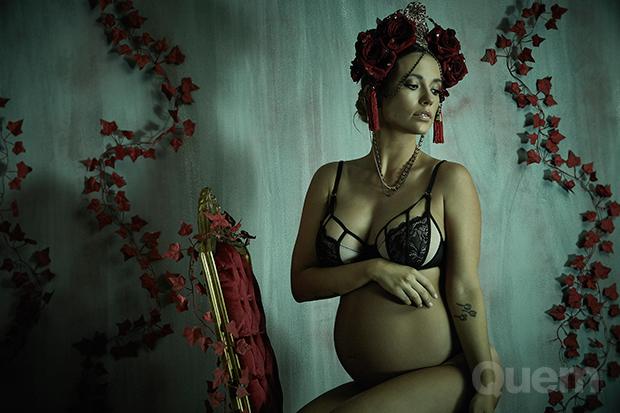 Juliana Didone (Foto: Projeto Annie Maternity por Gustavo Arrais)