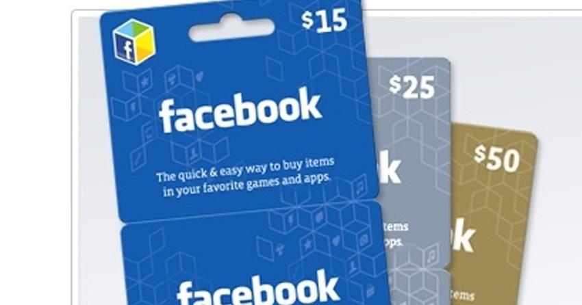Facebook, Google Play, Skype, iTunes Cards