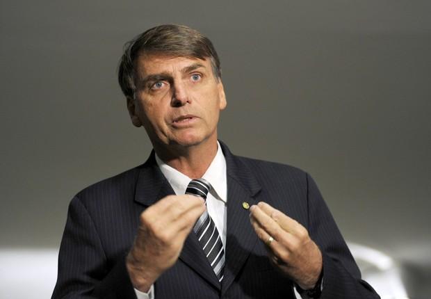 O deputado federal Jair Bolsonaro (PSC-RJ) (Foto: Janine Moraes/Agência Câmara)