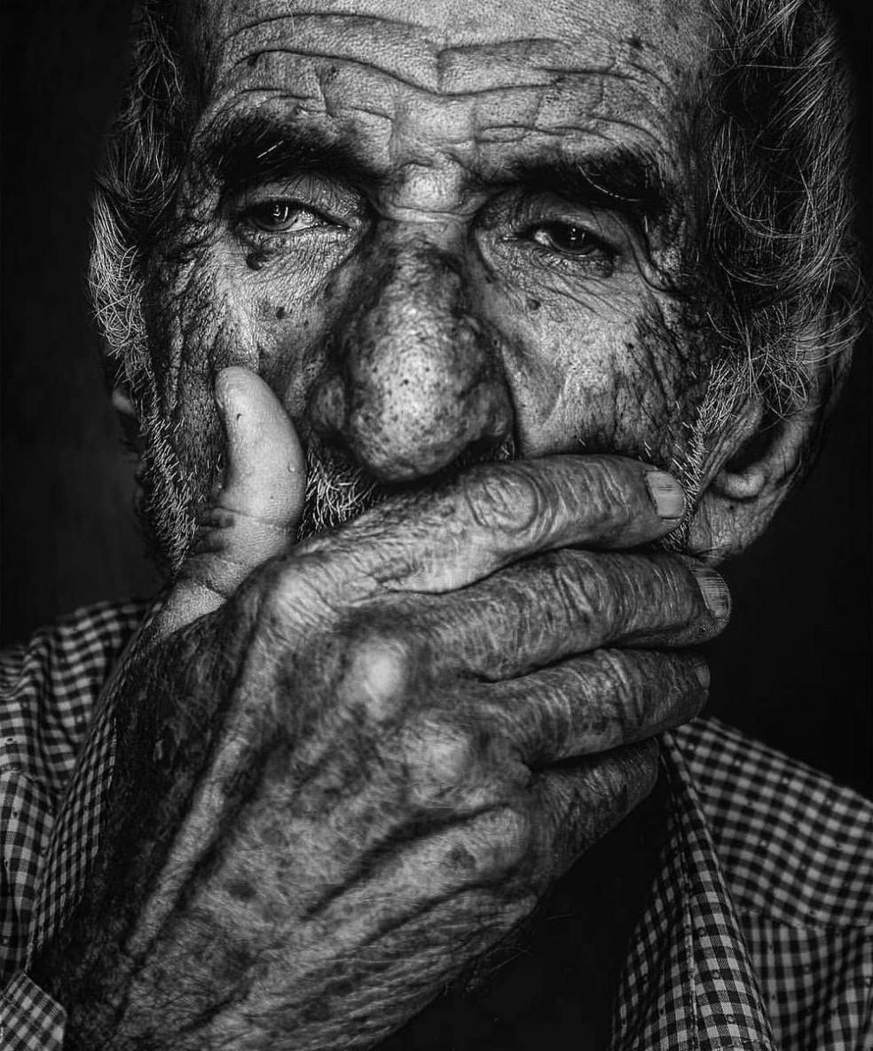 Engenheiro português Martim passou conseguiu voltar ao país após passar 14 anos nas ruas de Pernambuco — Foto: Renan Carlos/Arquivo Pessoal