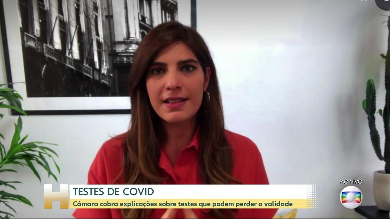 Câmara cobra explicações sobre 6,8 milhões de testes da Covid que podem perder validade