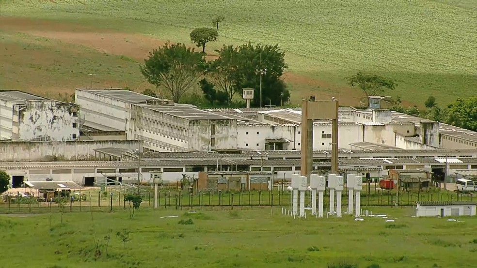 Complexo Penitenciário da Papuda, no DF — Foto: TV Globo / Reprodução