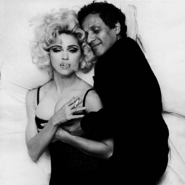 Madonna e Azzedine Alaïa (Foto: Instagram Madonna/ Reprodução)