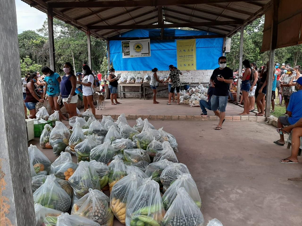 Cestas agroecológicas são entregues a famílias em situação de vulnerabilidade em Santarém e Mojuí dos Campos