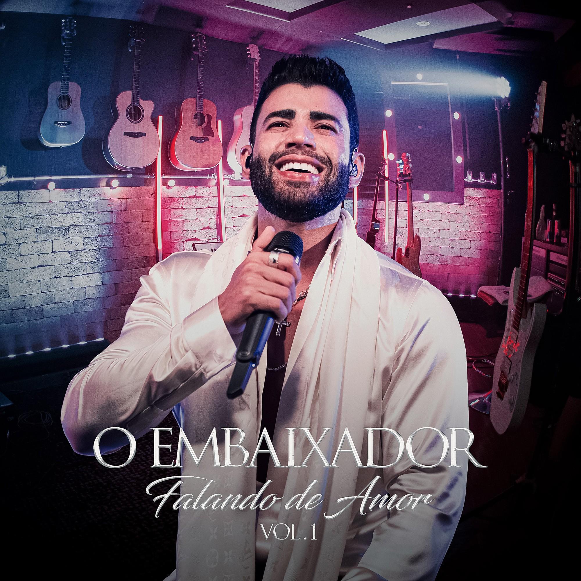 Gusttavo Lima apresenta álbum em que fala de amor através de hits de Bruno & Marrone e Zezé Di Camargo & Luciano