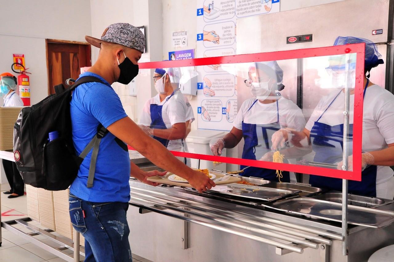 Restaurantes populares vão oferecer jantar a R$ 1 a partir de segunda (12) em todo o Maranhão