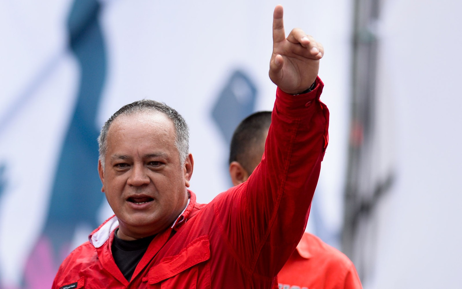 Diosdado Cabello em foto de 9 de maio de 2017 — Foto: Federico Parra/AFP