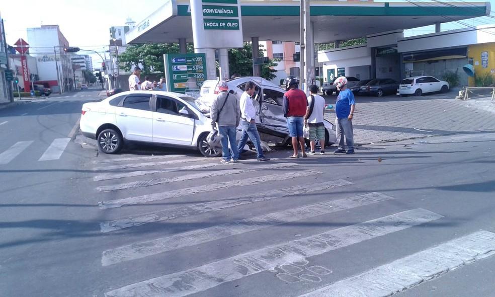 Não há informações sobre as circunstâncias do acidente — Foto: Anderson Oliveira/Blog do Anderson