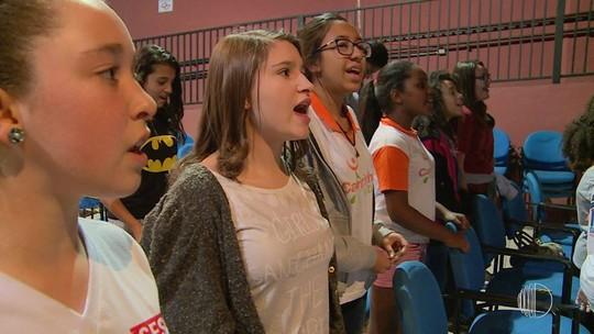 Projeto musical promove inclusão de crianças e adolescentes