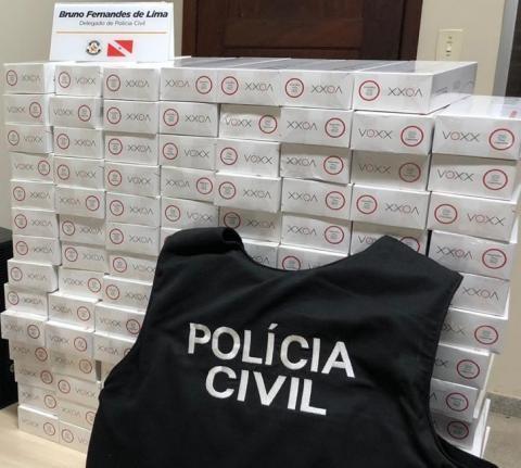 Polícia apreende cigarros contrabandeados e prende suspeito no Bengui, em Belém - Notícias - Plantão Diário