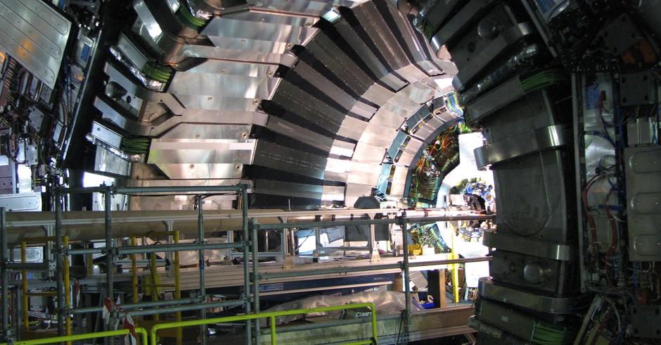 O Grande Colisor de Hádrons (Foto: Divulgação )