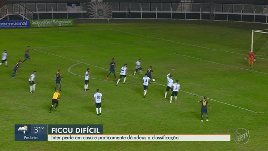 Veja o gol da vitória do RB Brasil sobre a Inter de Limeira, pela Copa Paulista
