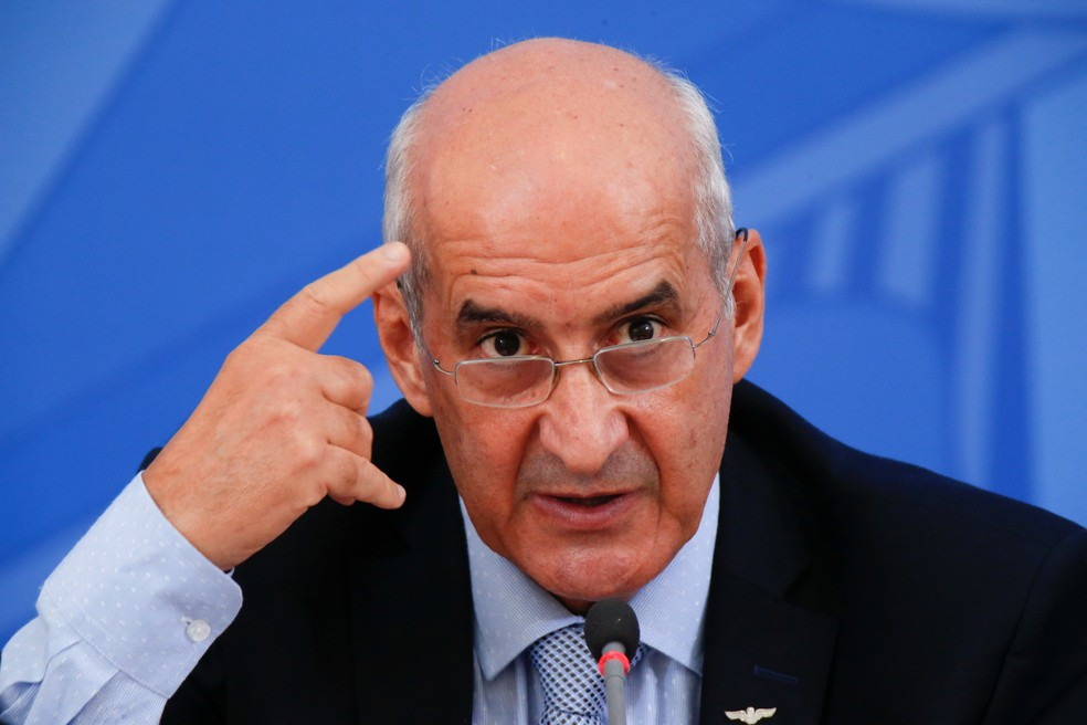 O ministro Luiz Eduardo Ramos, da Secretaria de Governo — Foto: Reuters/Ueslei Marcelino