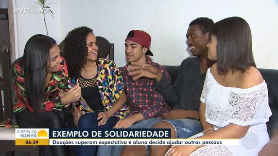 Solidariedade: estudantes fazem vaquinha para ajudar colega em dificuldades financeiras