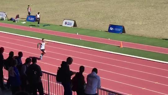 Petrúcio Ferreira supera própria marca e faz novo recorde mundial dos 200m na classe T47