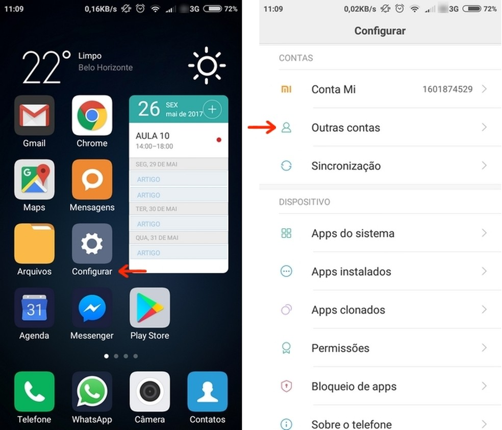 Celular Xiaomi: aprenda como adicionar uma conta Google ao Redmi
