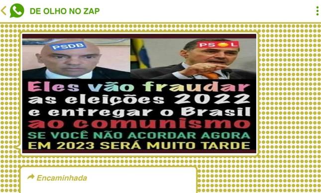 Ministros do STF não escaparam da mira dos militantes pró-Bolsonaro