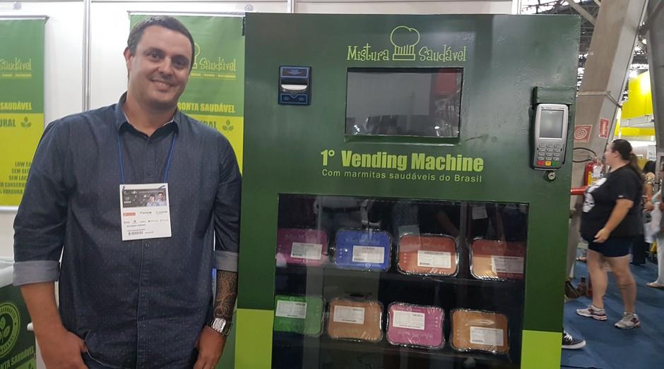 Ricardo Comino França fundador da Mistura Saudável (Foto: Amanda Oliveira/ Editora Globo )