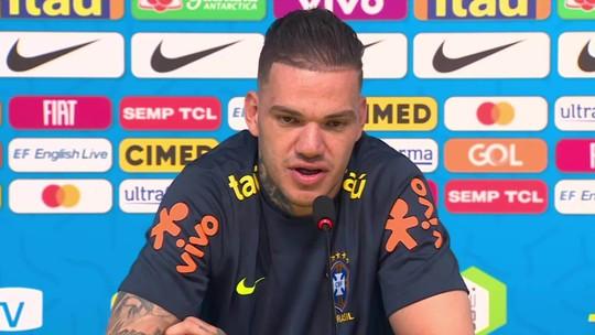 Ederson aponta que será titular no amistoso da seleção brasileira contra o Catar