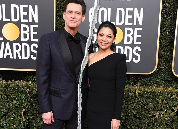 Jim Carrey e Ginger Gonzaga (Foto: Getty Images)