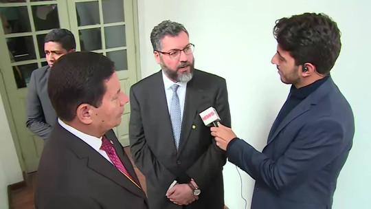 Não se pode comparar ditadura da Coreia do Norte e da Venezuela, diz ministro das Relações Exteriores brasileiro