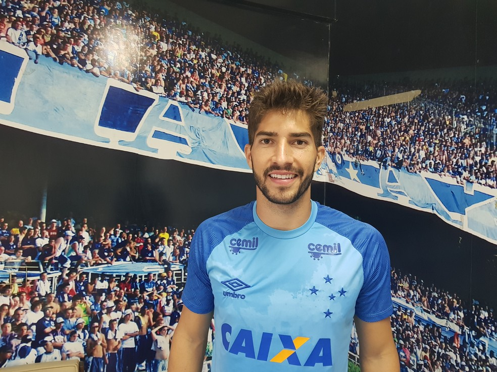 Volley Lucas Silva has a good phase at Cruzeiro (Photo: Gabriel Duarte)